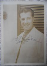 Don Ameche Hollywood Actor - Signed Photograph